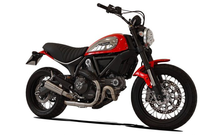 Ducati Scrambler 800: nuovo scarico HP Corse GP07 satinato