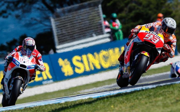 MotoGP a Phillip Island 2017 orari TV