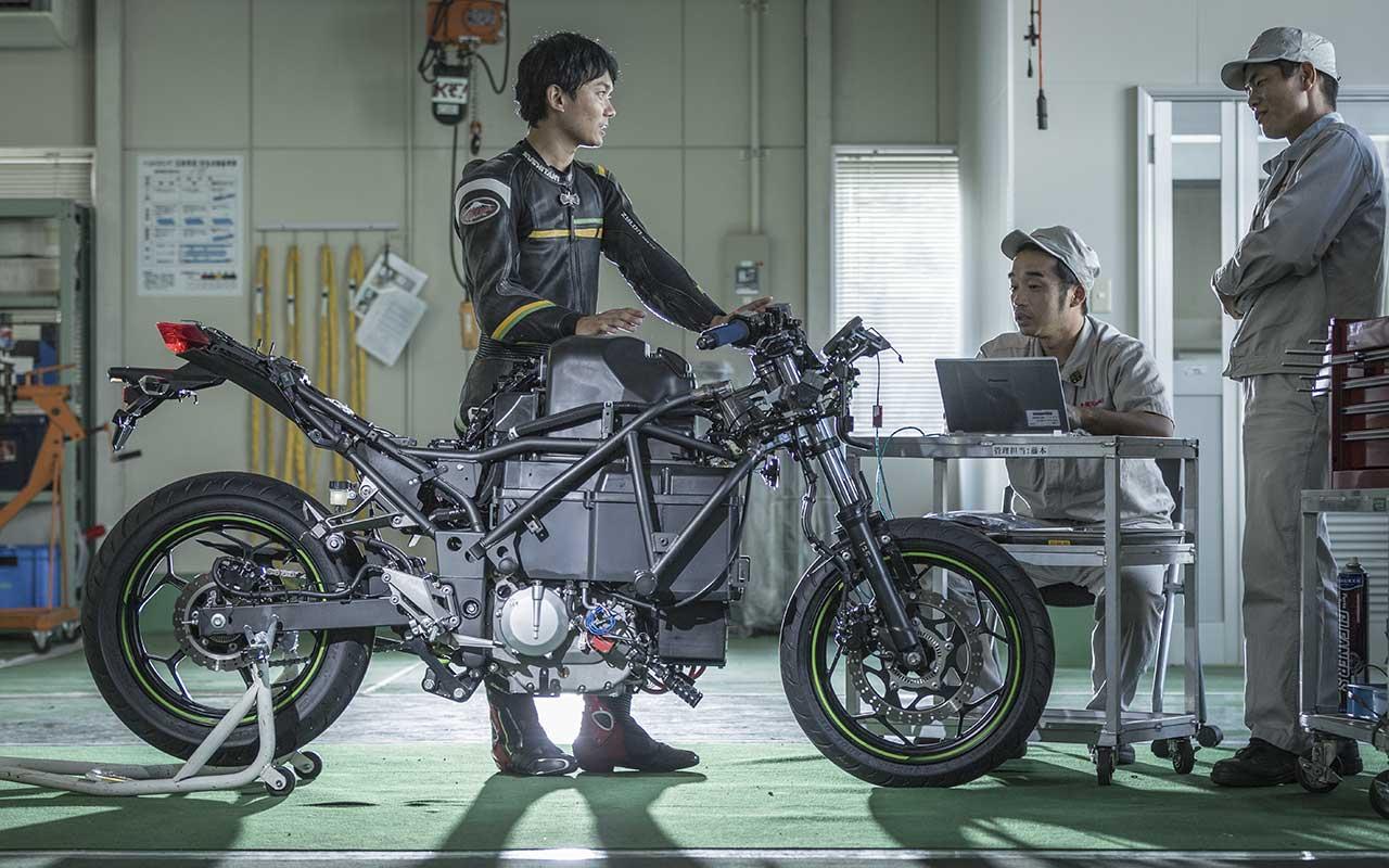 Kawasaki Ninja elettrica