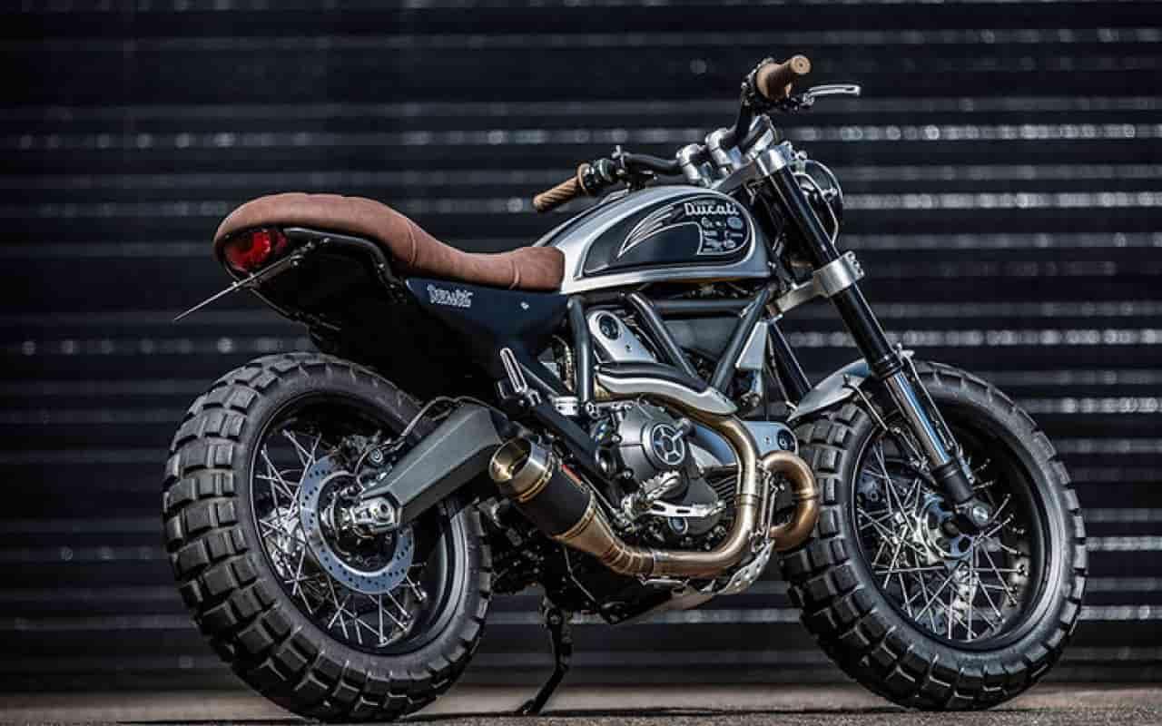 Ducati Scrambler Double Scoop