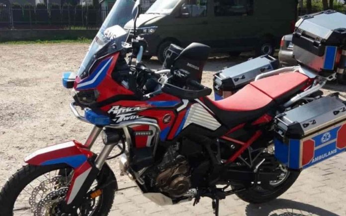 Honda Africa Twin Ambulanza