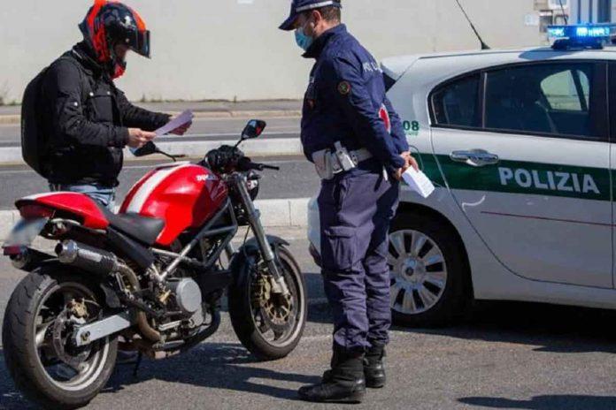 Gare clandestine in moto