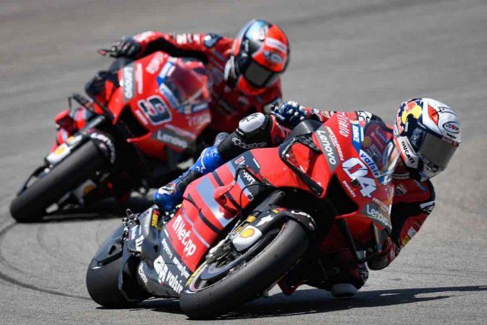 Ducati sul GP d'Austria