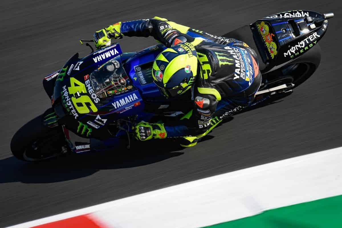 MotoGP Misano 2020 FP3. Valentino Rossi davanti - Smanettoni.net