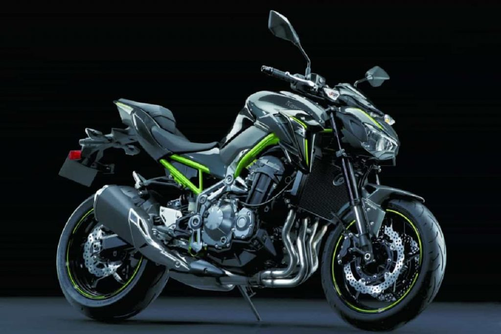 Nuovi colori Kawasaki 2021 - Z900