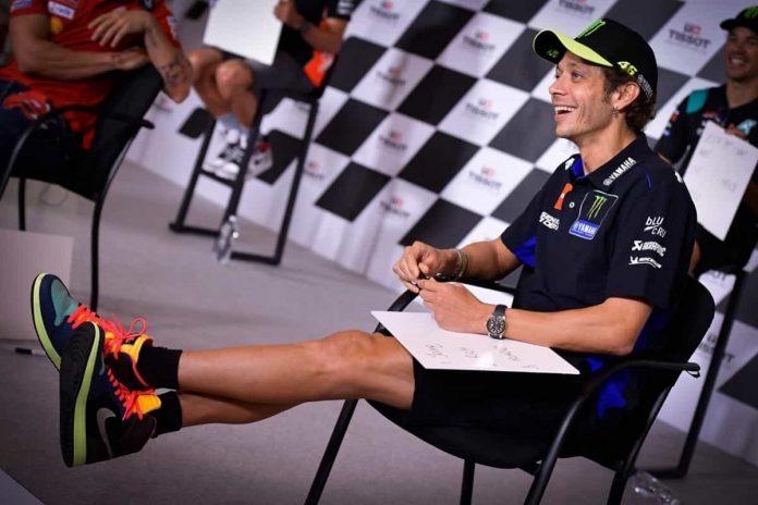 Valentino Rossi con Petronas
