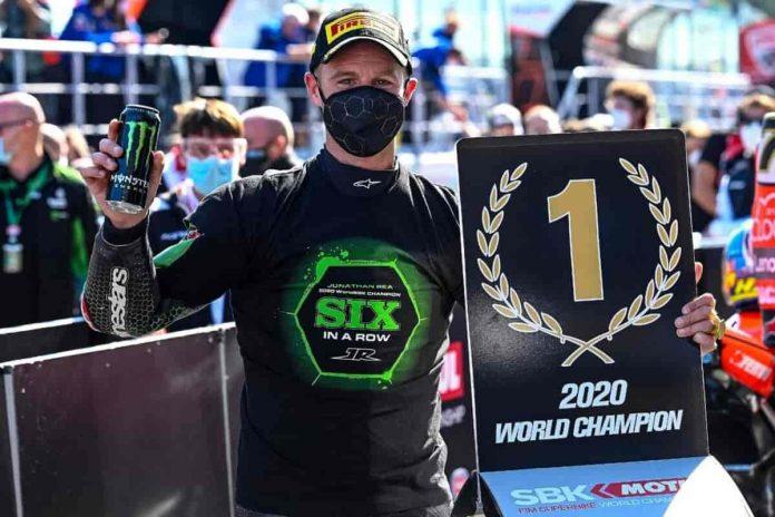 Jonathan Rea Campione del Mondo