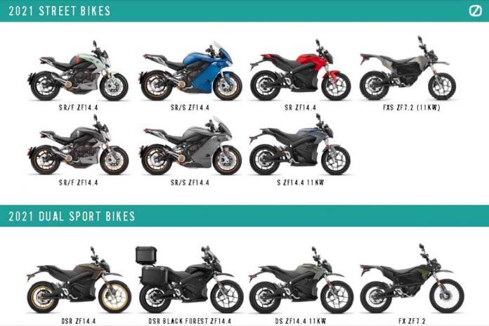 Zero Motorcycles Gamma 2021