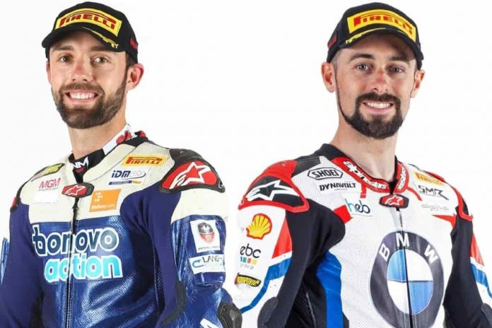 Folger e Laverty in BMW