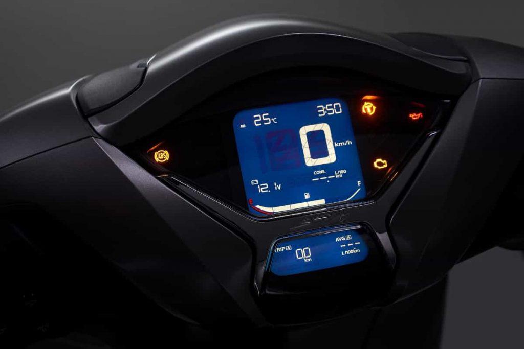 Honda SH350i 2021 - LCD