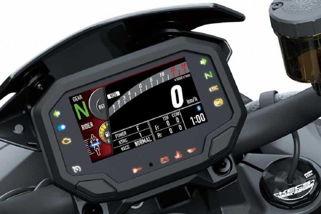 Kawasaki Z H2 SE 2021 - Display