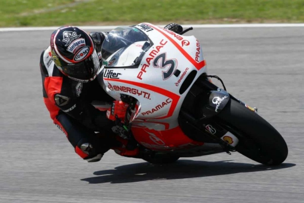 Max Biaggi e Ducati - Pramac