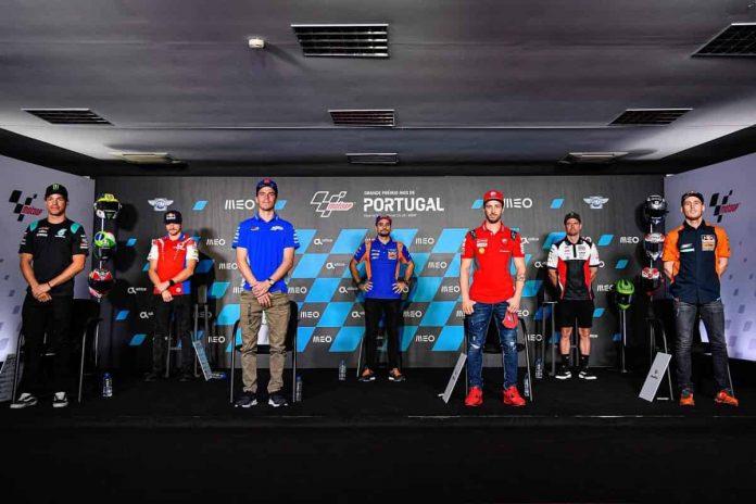 MotoGP Portimao 2020 Conferenza Stampa (2)
