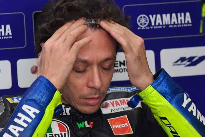 MotoGP Portimao 2020 FP2 Rossi