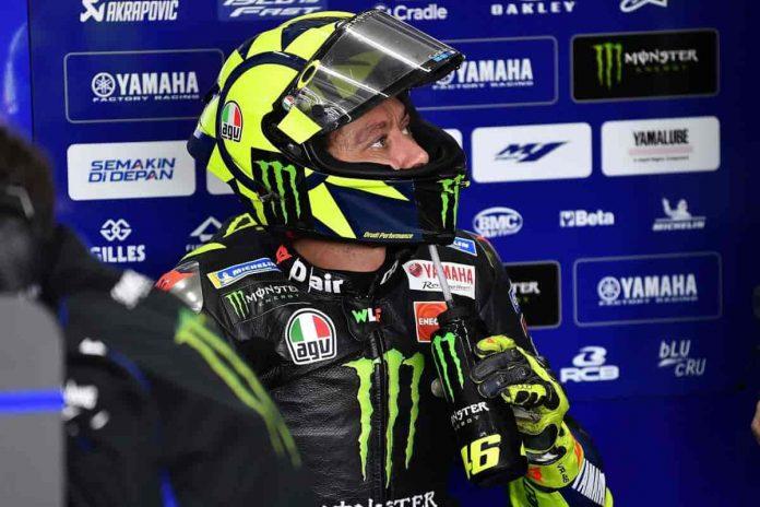 MotoGP Portimao 2020 Rossi