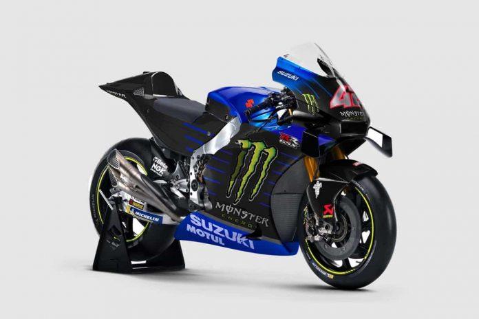 Monster sponsor Suzuki MotoGP