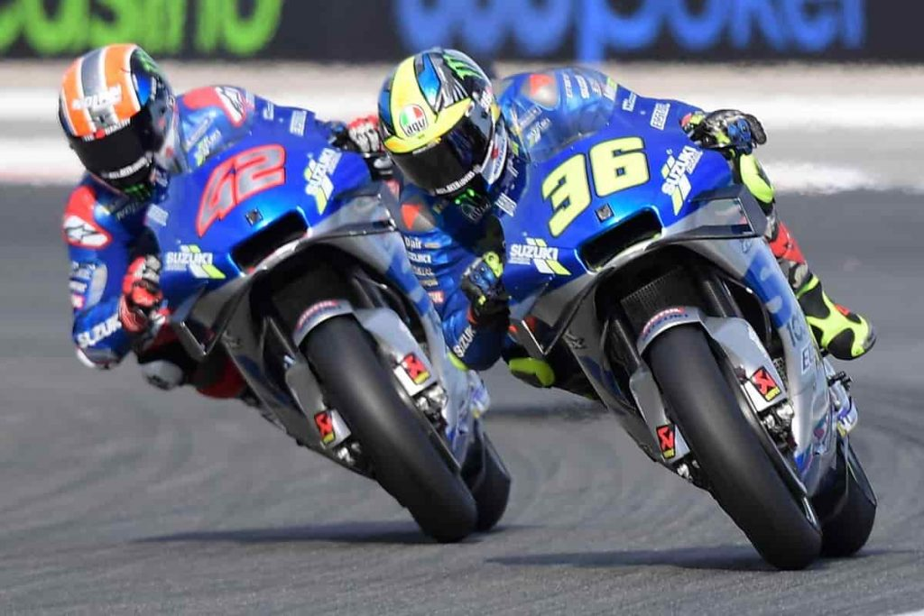 Monster sponsor Suzuki MotoGP - Rins e Mir