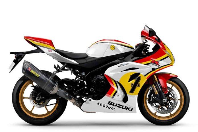 Suzuki GSX-R 1000 Barry Sheene - Cover