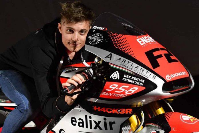 Tommaso Marcon Moto2 2021\