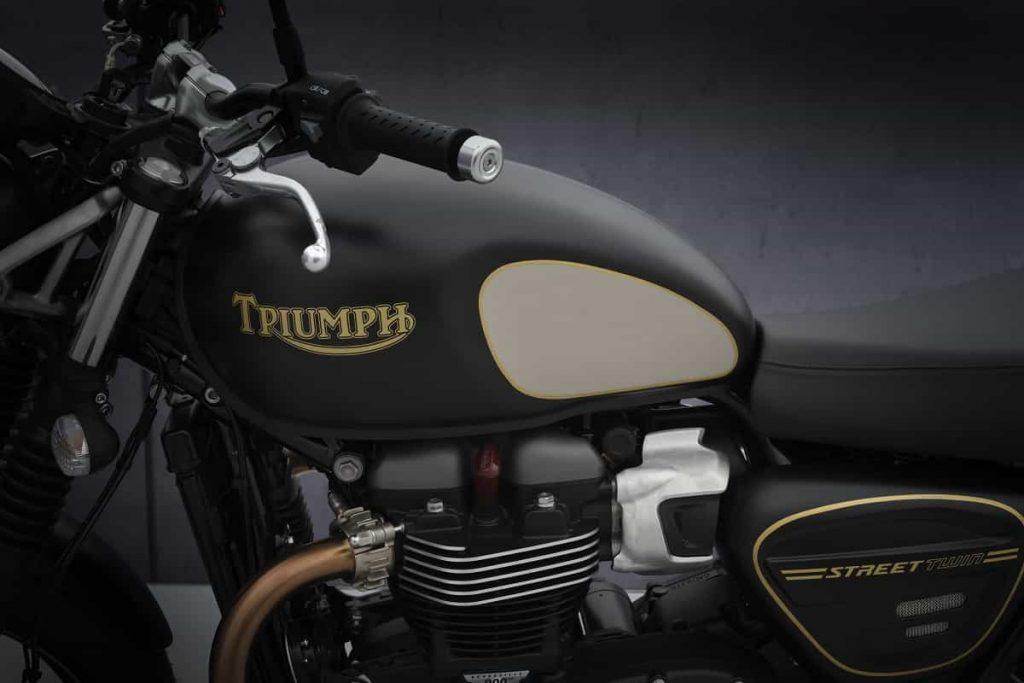 Triumph Street Twin 2021 - Gold