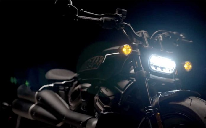 Harley-Davidson cruiser 1250