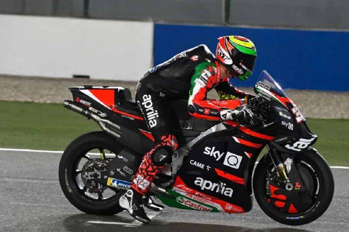 Lorenzo Savadori Test MotoGP 2021
