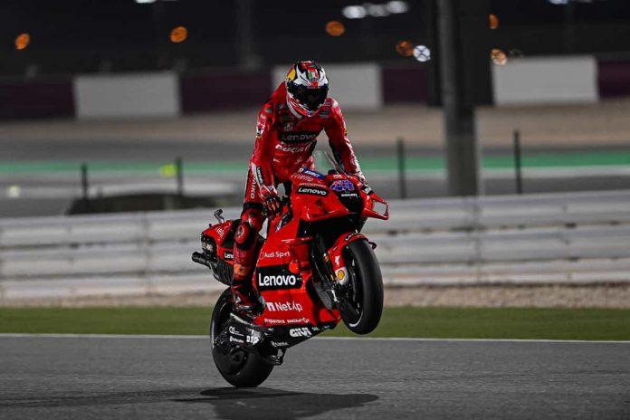 Miller FP2 MotoGP 2021 Qatar