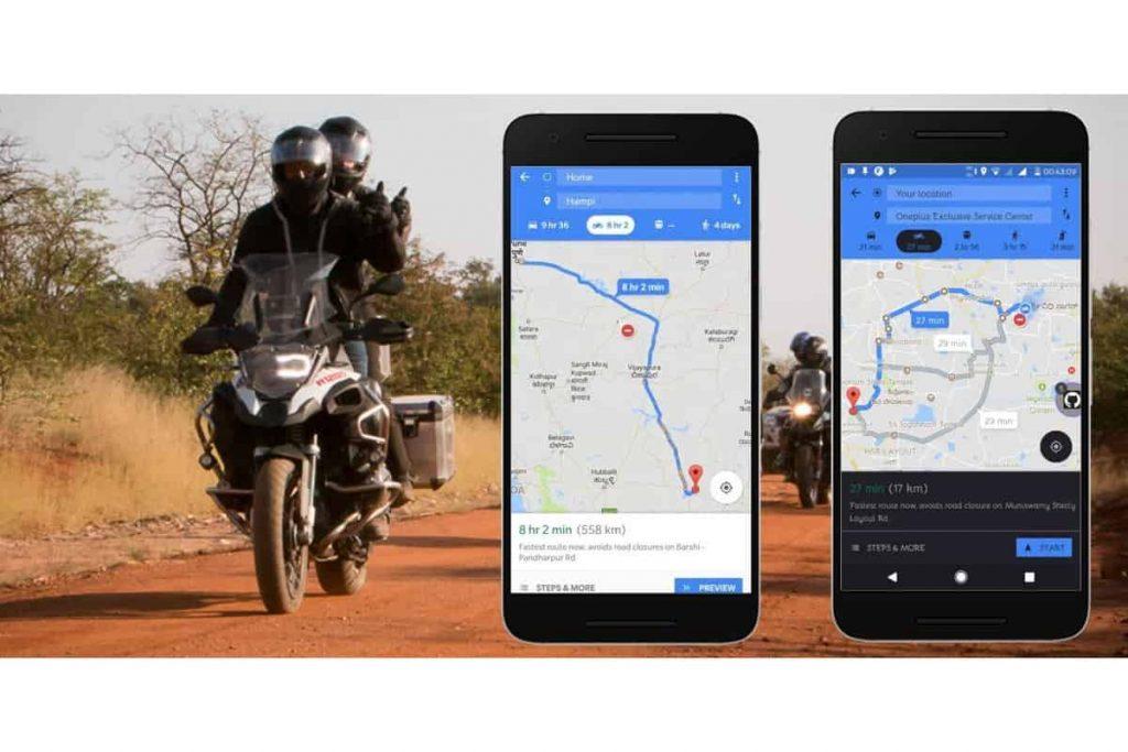 100 aggiornamenti Google Maps - Track