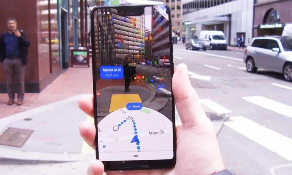 100 aggiornamenti Google Maps - View