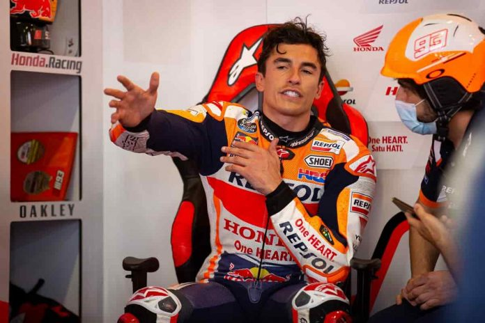 Marquez Qualifiche MotoGP Portimao 2021