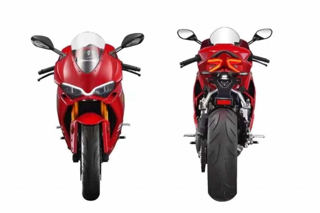 Moxiao 500 RR Ducati Panigale - Front & Back (2)