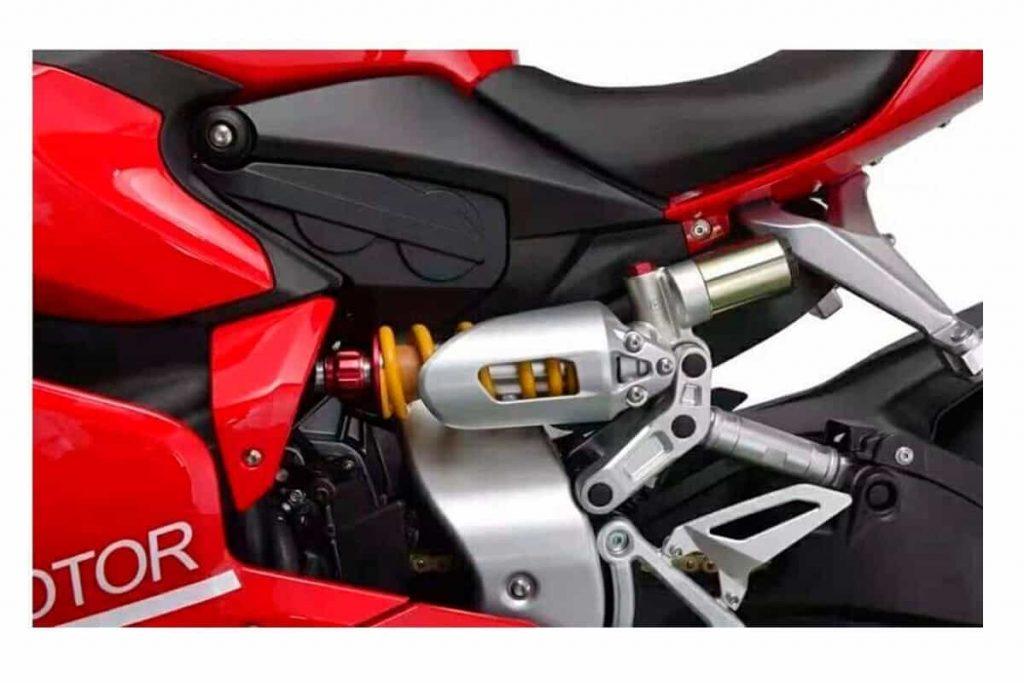Moxiao 500 RR Ducati Panigale - Suspension