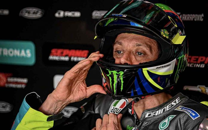 Rossi Qualifiche MotoGP Doha Qatar 2021