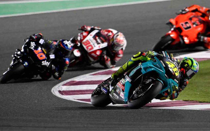 Yamaha Petronas MotoGP Doha Qatar 2021