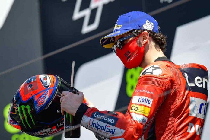 Bagnaia Gara MotoGP Jerez 2021