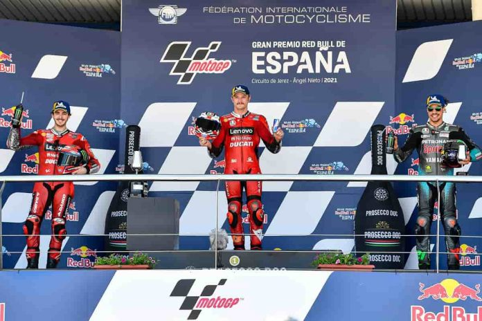 Gara MotoGP Jerez 2021