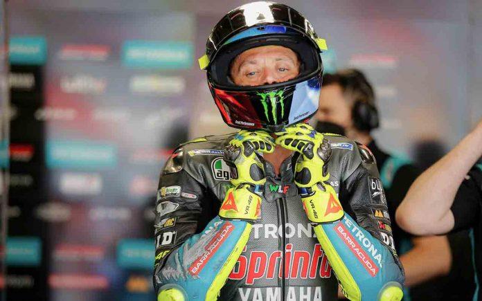 MotoGP Barcellona 2021 Valentino Rossi