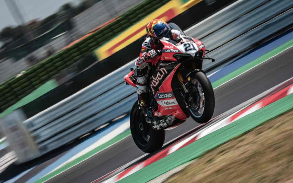 Superpole Race Superbike Misano Rinaldi