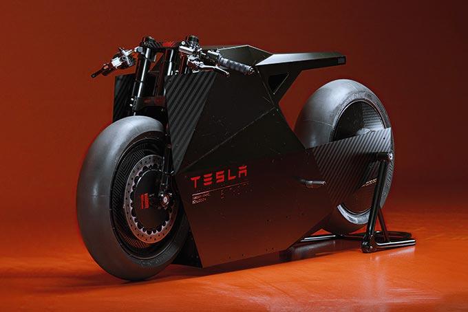 Moto elettrica Tesla